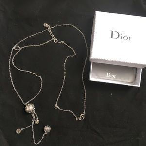Authentic Dior Long Necklace